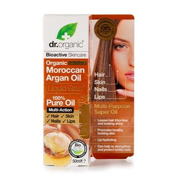 Dr. Organic Moroccan Argan Oil Liquid Gold 50 ml