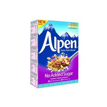 Alpen Muesli No Added sugar strawberry 560g 20% Off