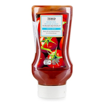 Tesco Reduced Salt Tomato Ketchup 525g