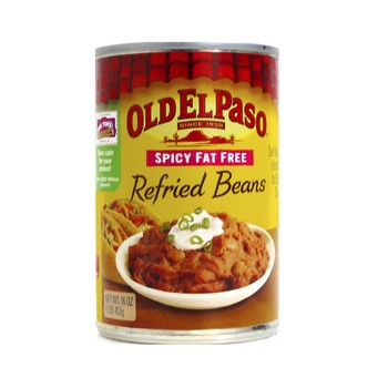 Old El Paso Refried Beans Spicy Fat Free 453g