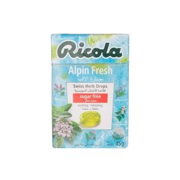 Ricola Sugar Free Herb Alpple n Fresh  45 Gm.
