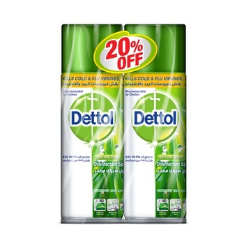 Dettol Disinfectant Surface Spray Original 2 x 450 ml @ 20% Off