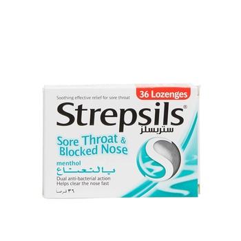 Strepsils Menthol 36s