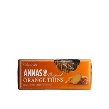 Annas Biscuits Orange Thins 150g