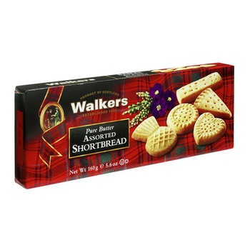 Walkers Assorted Short Bread Shapes 160g