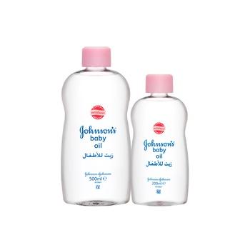 Johnson's Baby Oil 500 ml + 200 ml Free