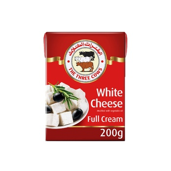 3cow Ls White Cheese 200g