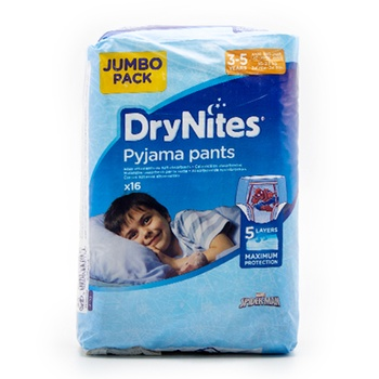 Huggies Drynites Pyjama Pants 3 5 Years 16 23 kg 16 Count