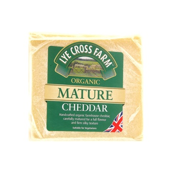LXF Organic Mature Cheddar Cheese 245g