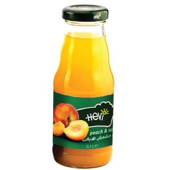 Hevi Peach Apricot 50% Juice 200 ml