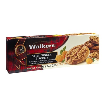 Walkers Stem Ginger Biscuits 150g