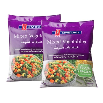 Emborg Mixed Vegetables 2X450g