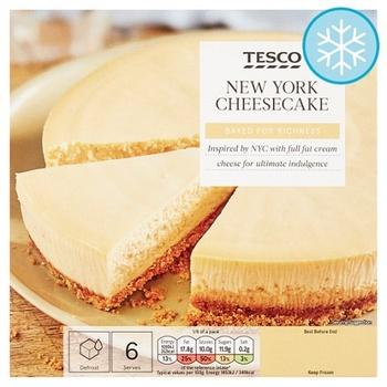 Tesco New York Cheese Cake 450g