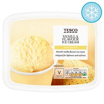 Tesco Soft Scoop Vanilla 2 ltr