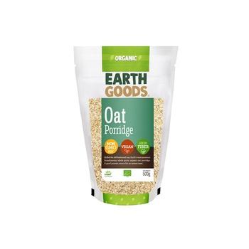 Earth Goods Organic Oat Porridge 500g