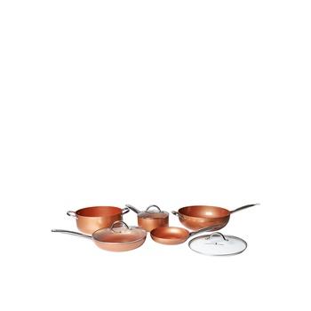 Copper Chef 8 pcs Cookware Set