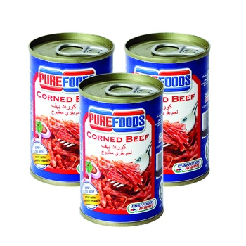 Pure Foods Corned Beef 3x150g @ Special Price