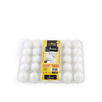 Jenan White Eggs Tray 30S L # 410011107
