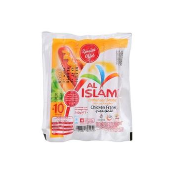 Al Islami Chicken Franks 340g Pack of 3