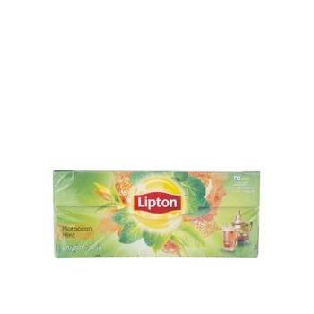 Lipton Green Tea Bags - Morrocan Mint 25's