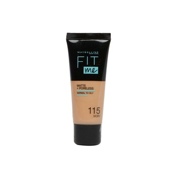 Maybelline Fit Me Matte Foundation Tb.Nugb 115 Ivory