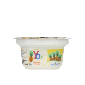 Al Rawabi Yoghurt Yo Pineapple 130g