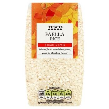 Tesco Spanish Paella Rice 500g