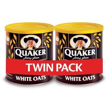Quaker Oat Tins 2x500g