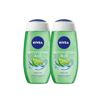 Nivea Shower Gel Lemongrass & Oil 2X250ml