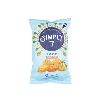 Simply7 Bean Pops Sweet Chilli 3.5oz
