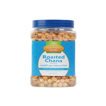 Goodness Foods Roasted Chana without Skin 400g