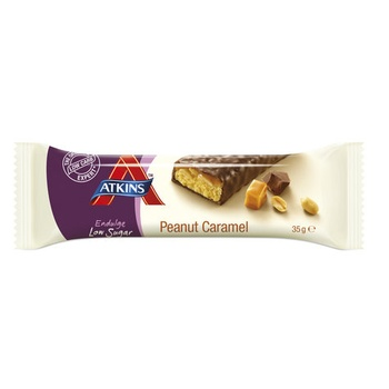 Atkins Chocolate Caramel Peanut Endulge Bar 35g