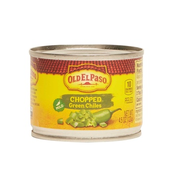 Old El Paso Green Chili Chopped 127g
