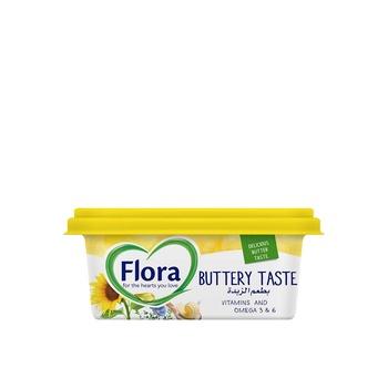 Flora Buttery Taste Plant Based Oils Margarine 250g