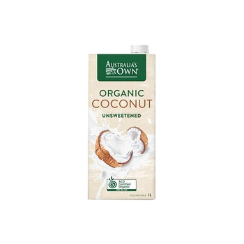 Australia'S Own Organic Unsweetened Almond Milk 1 ltr