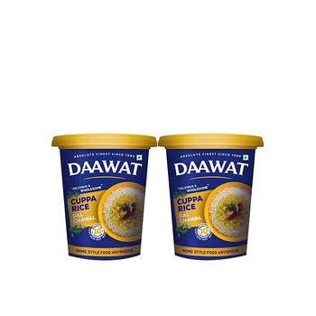 Daawat Cuppa Rice Asstd 90g Pack of 2