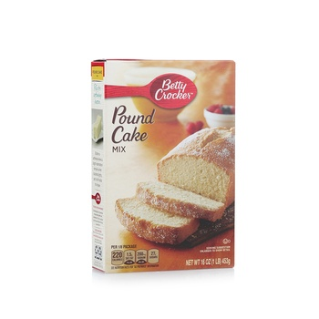 Betty Crocker Pound Cake Mix Original 517g