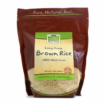 Now Long Grain Brown Rice 908g