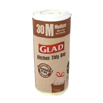 Glad Kitchen Tidy Degradable Bags Medium 30s