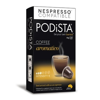 Podista Coffee Aromatico 50gm(10pk)