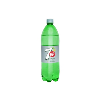 7UP Free, Carbonated Soft Drink, Plastic Bottle, 1.125 Liter