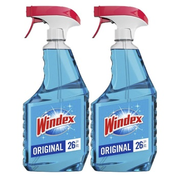 Windex Glass Cleaner Original 750ml Pack Of 2