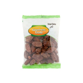 Goodness Foods Dried Dates 250g