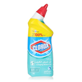 Clorox Toilet Bowl Cleaner Clinging Bleach Gel 709ml