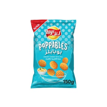 Lays Poppables Cream Cheese with Dip 150g