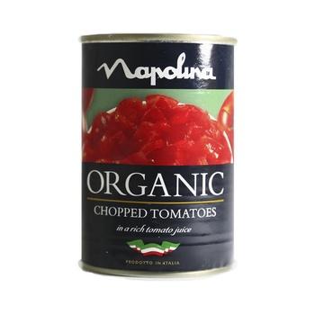 Napolina Organic Chopped Tomatoes In Tomato Juice 400g