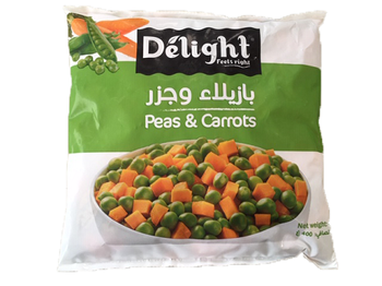 Delight Peas & Carrots 400g