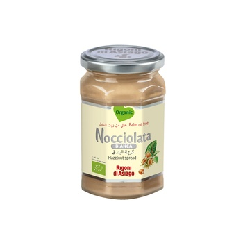 Nocciolata Organic Bianca Hazelnut Spread 270g