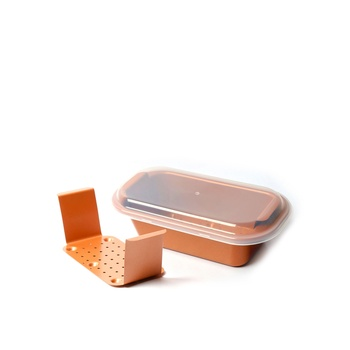 Copper Chef Loaf Pan 9.5 inch  3 pc pack