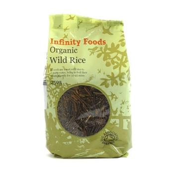 Infinity Foods Organic Wild Rice 250g